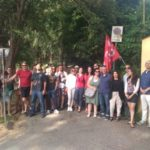 Sciopero all'International School of Florence